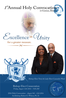 Bishop-Elect Consecration
